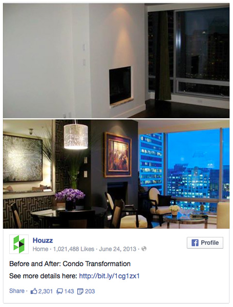 featured on houzz before and after zwada home interiors design