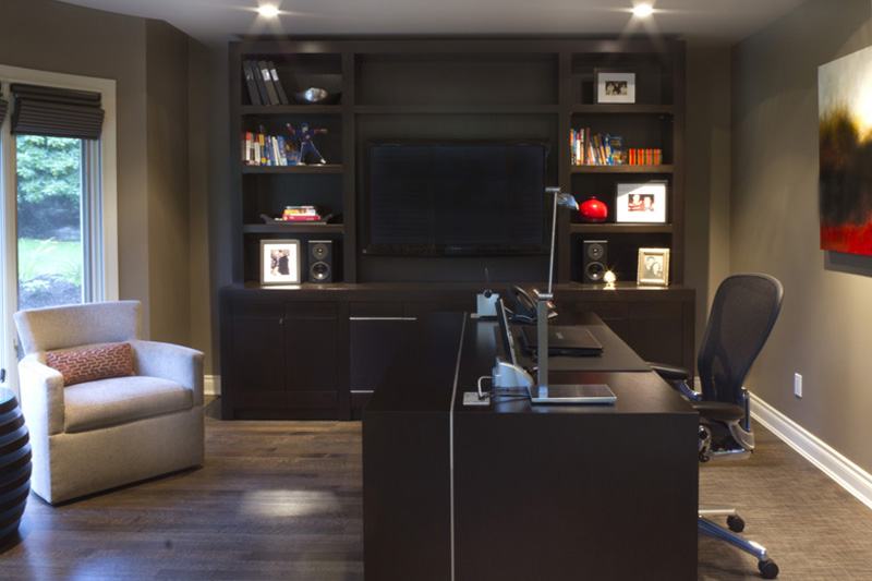Home office zwada home interiors design vancouver for Office design vancouver