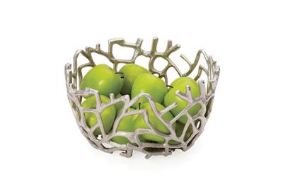 branch aluminum round bowl