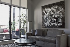 interior design Vancouver Contemporary den