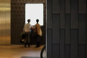 Interior Wall Design - Kitte - Tokyo, Japan