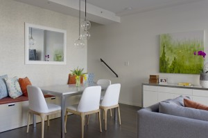 interior design Vancouver modern dining room