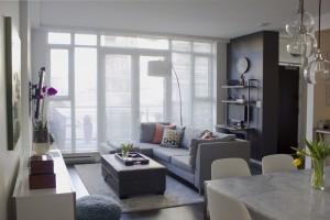 interior design Vancouver modern living room