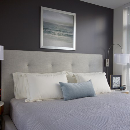 interior design Vancouver modern bedroom