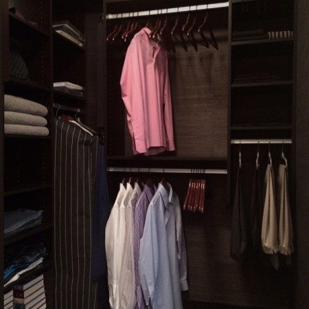 interior design Vancouver Contemporary walk-in closet