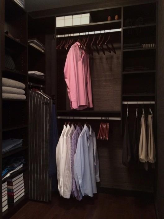 interior design Vancouver Contemporary walk-in closet