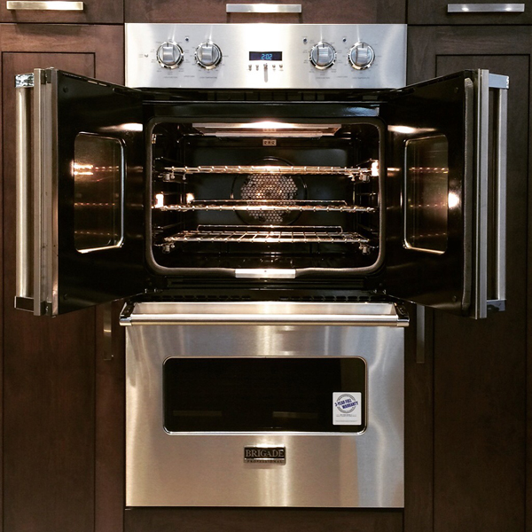 french door double wall oven - Brigade