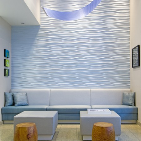 interior design Vancouver dental office waiting room