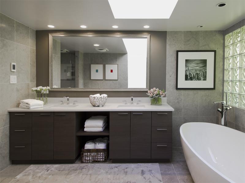 Refined Contemporary U2013 Ensuite Bathroom Renovation | ZWADA Home Interiors U0026  Design   Vancouver