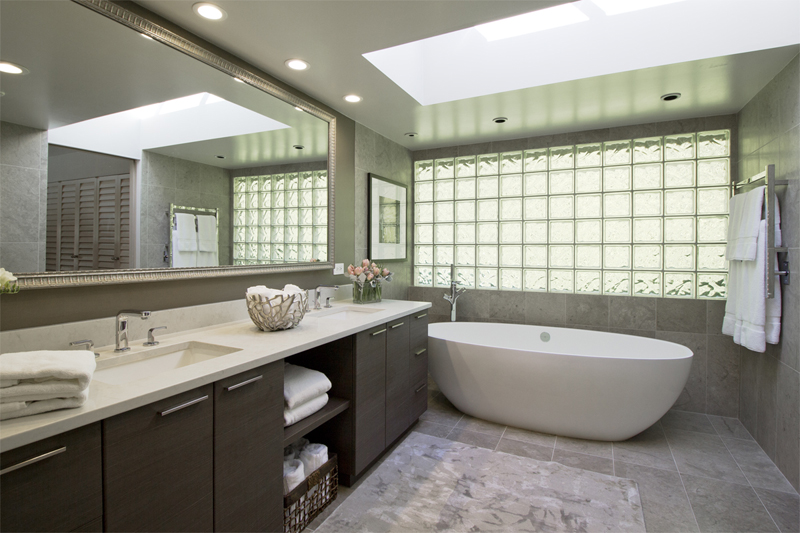 Refined Contemporary – Ensuite Bathroom Renovation | ZWADA home ...