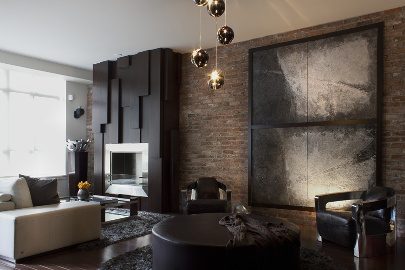 Masculine Sensibility Yaletown Loft Vancouver ZWADA home