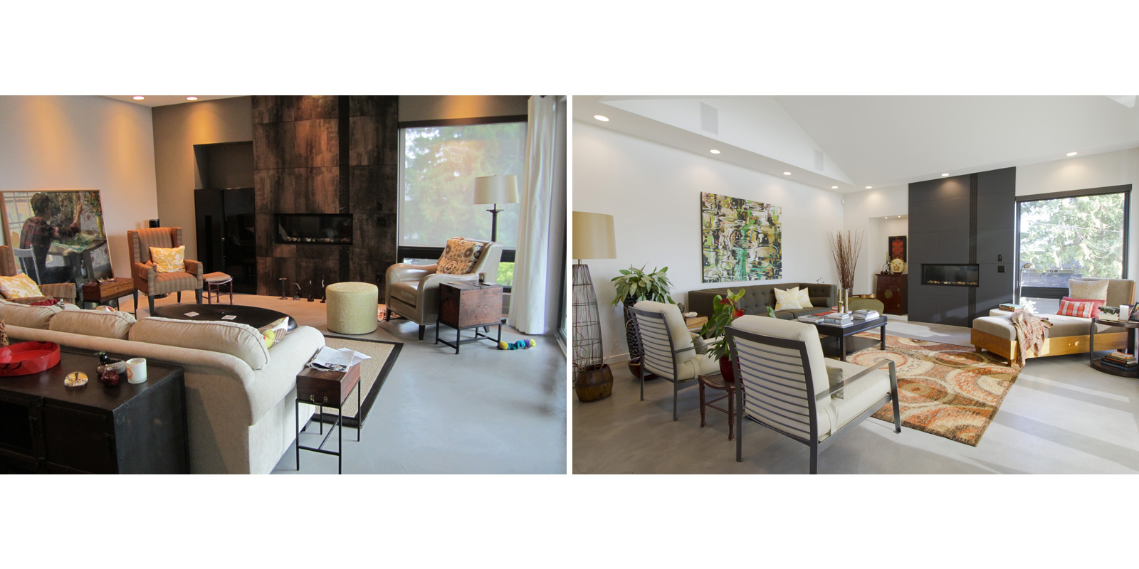Before And After Zwada Home Interiors Design Vancouver