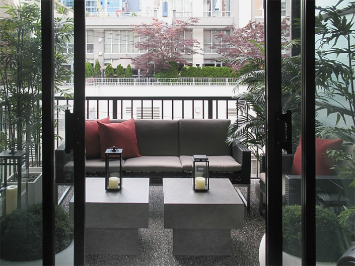 interior design Vancouver Contemporary patio