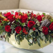 christmas flower arrangement vancouver