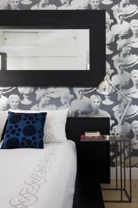 interior design Vancouver eclectic bedroom loft